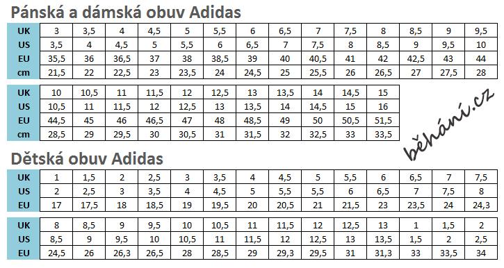 cbd6a0f1901 velikostni tabulka adidas behani.cz